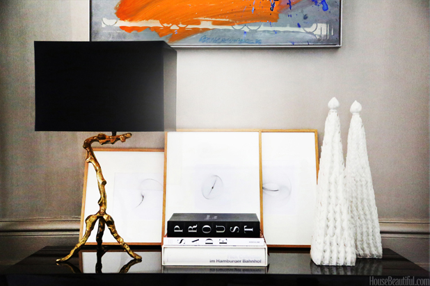 decorating with books - coffee table book collections