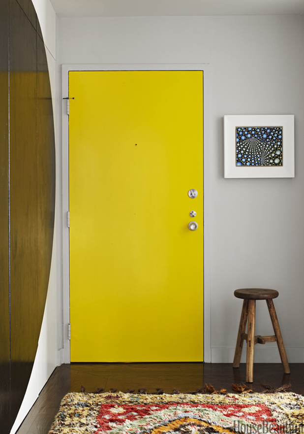 A Case For Painting Interior Doors A Crazy Color