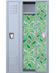 paisley locker decal - Locker Decoration Ideas