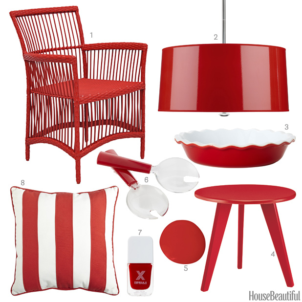 Red Home Decor Accessories Home Design Ideas