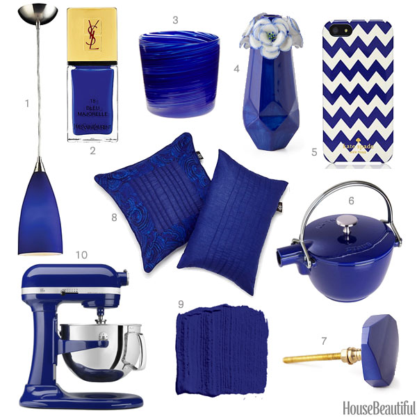 Cobalt Blue Home Accessories