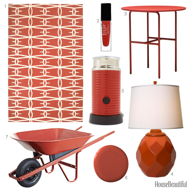Red Home Decor Accessories wonderful red decor red home decor Rust Red Accessories