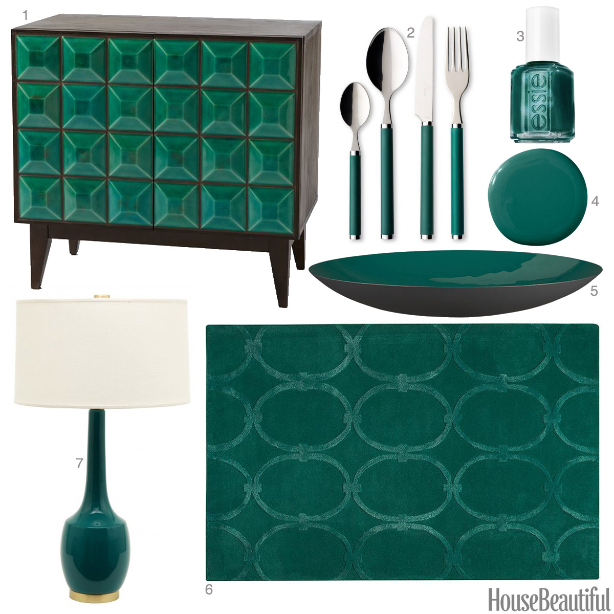 Dark Jade Accessories Dark Jade Home Decor