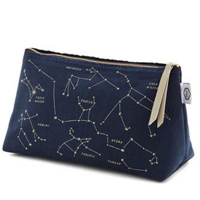 makeup bag celestial