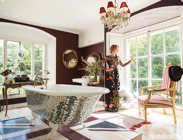 Alice temperley bathroomAlice Temperley Bathroom   Alice Temperley House. Home Fashion Design. Home Design Ideas