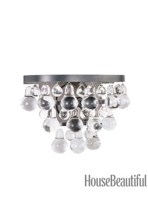 Bathroom Sconces With Bling crystal wall sconces - crystal light fixtures