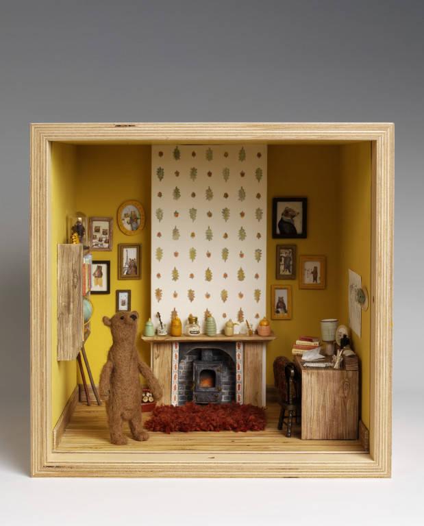 Designer dioramas miniature rooms - Design Ideas For A Tiny Living Room 2017 2018 Best
