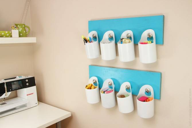 Hanging Bins - 15 DIY Storage Ideas - Easy Home Storage Solutions