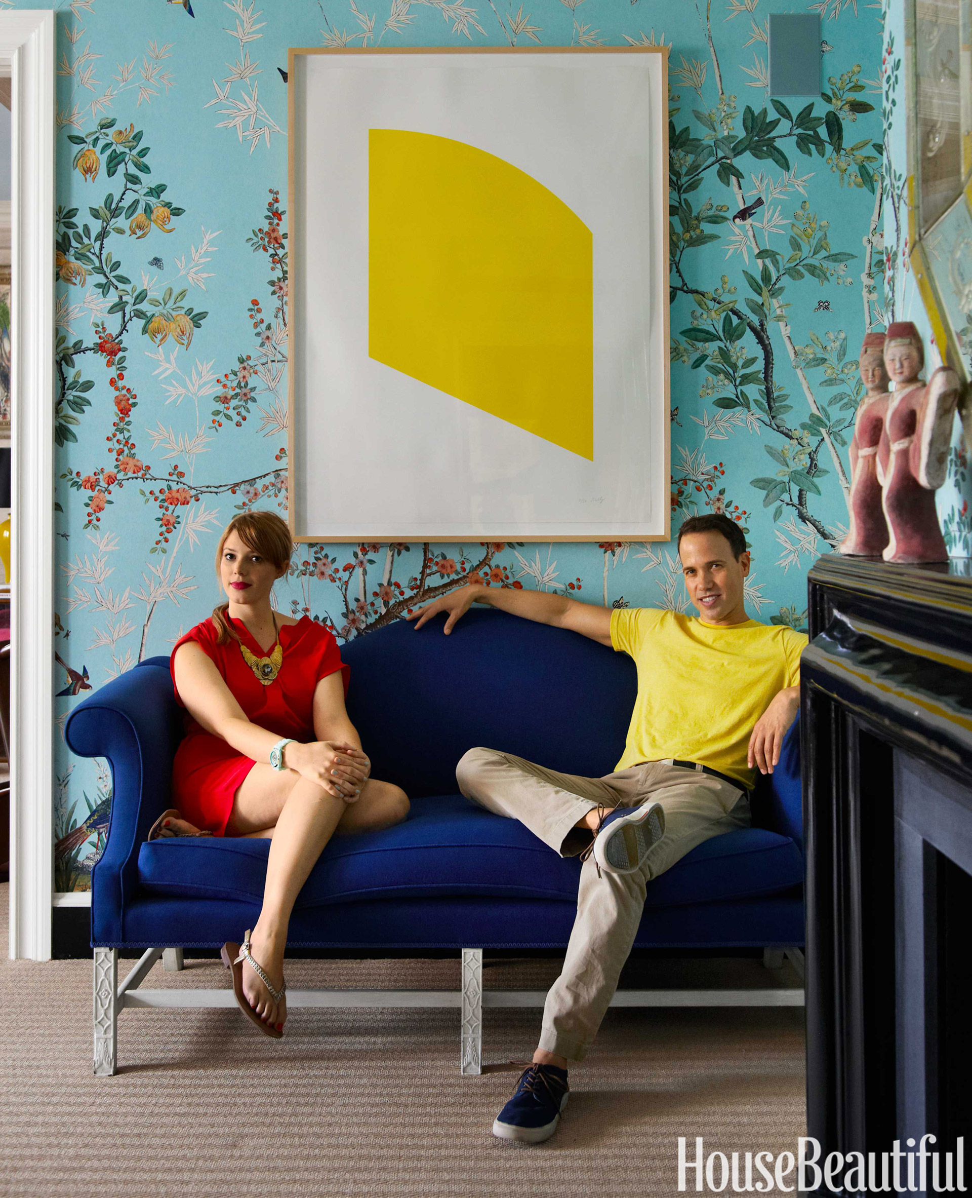 Miles Redd Colorful Manhattan Apartment Colorful Family Home