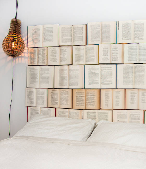 How To Decorate With Books creative ways to decorate with books - how to decorate with books