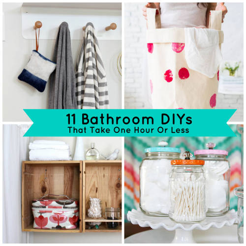 One Hour Kitchen Projects: Quick Bathroom Projects