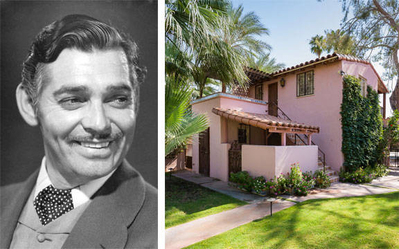 15 Old Hollywood Stars At Home - Elle Decor