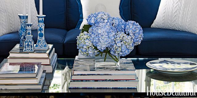 Blue and White Living Room   House Beautiful Pinterest Favorite   Blue and White Living Room   House Beautiful Pinterest Favorite Pins April  14  2014. Blue And White Living Rooms. Home Design Ideas