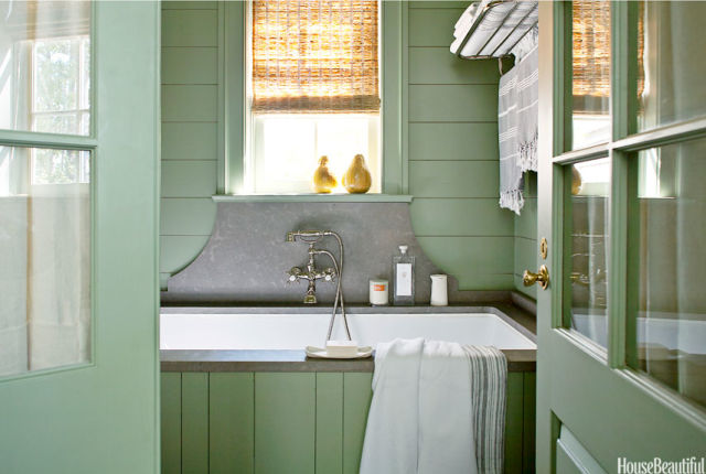 Green Color Bathroom Decorating Ideas: Green Color Bathroom Decorating Ideas