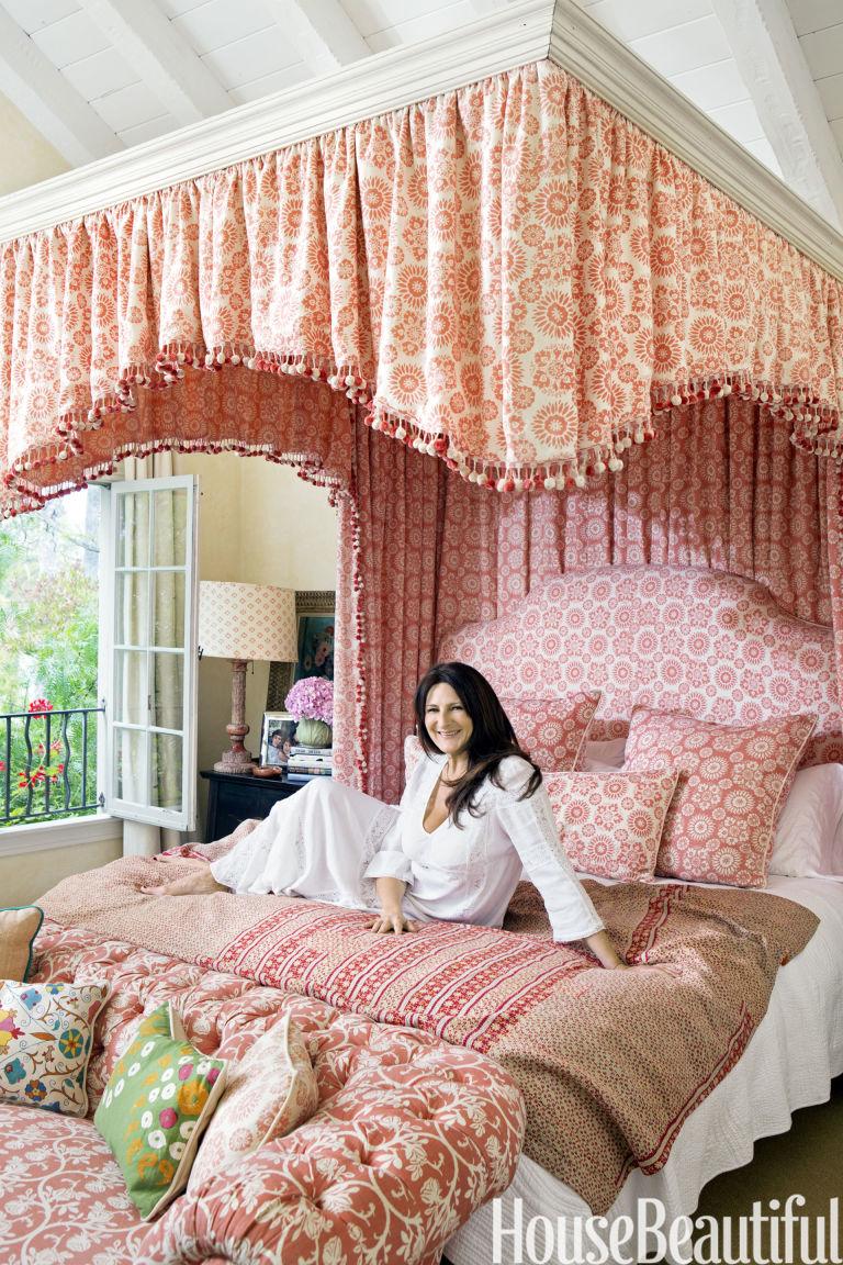Kathryn Ireland kathryn m ireland fabrics interview - kathryn m ireland bedroom