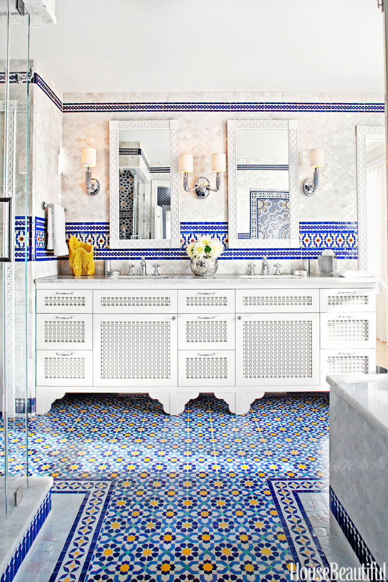 Moroccan Bathroom House Beautiful Pinterest Favorite Pins