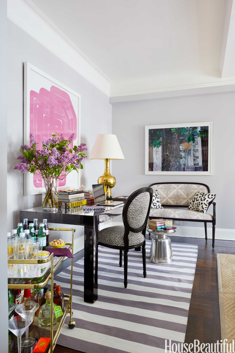 living room desk - house beautiful pinterest favorite pins