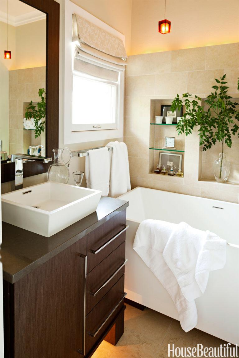 Small Bathroom Zen Design amanda reilly interview - amanda reilly small bathroom
