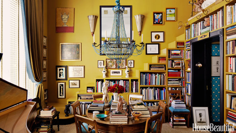 Bold color in small spaces small space paint colors - House beautiful small spaces photos ...