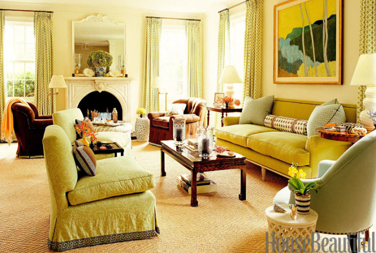 Green living rooms ideas for green living rooms Light green paint living room