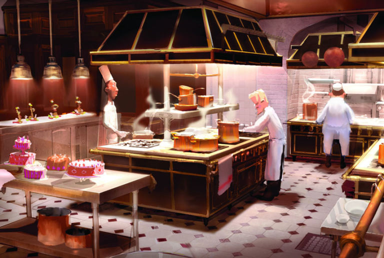 Kitchens From Movies -...