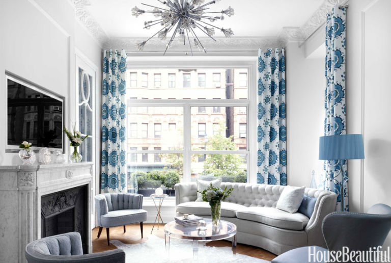 House Beautiful Decorating small elegant apartment - chic small spaces