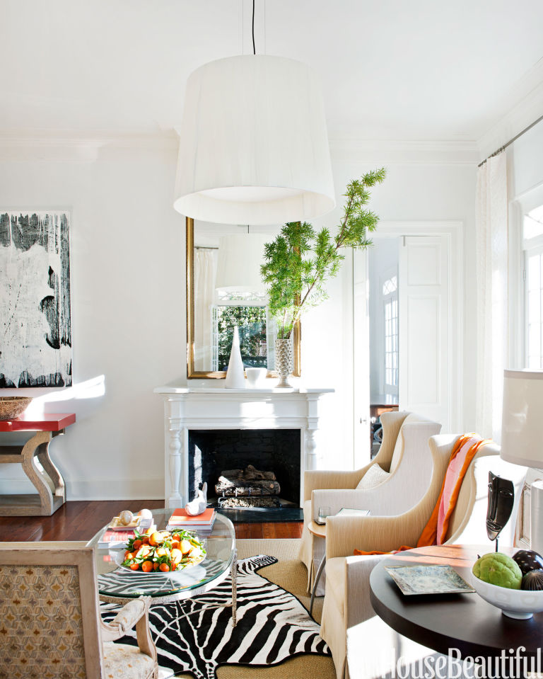 House Beautiful Living Room happy rooms - cheery homes