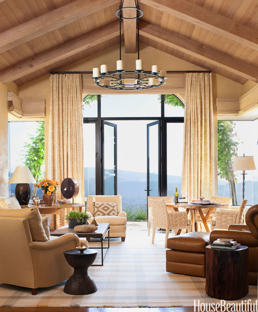 Great Room Decorating Ideas: House Beautiful Pinterest