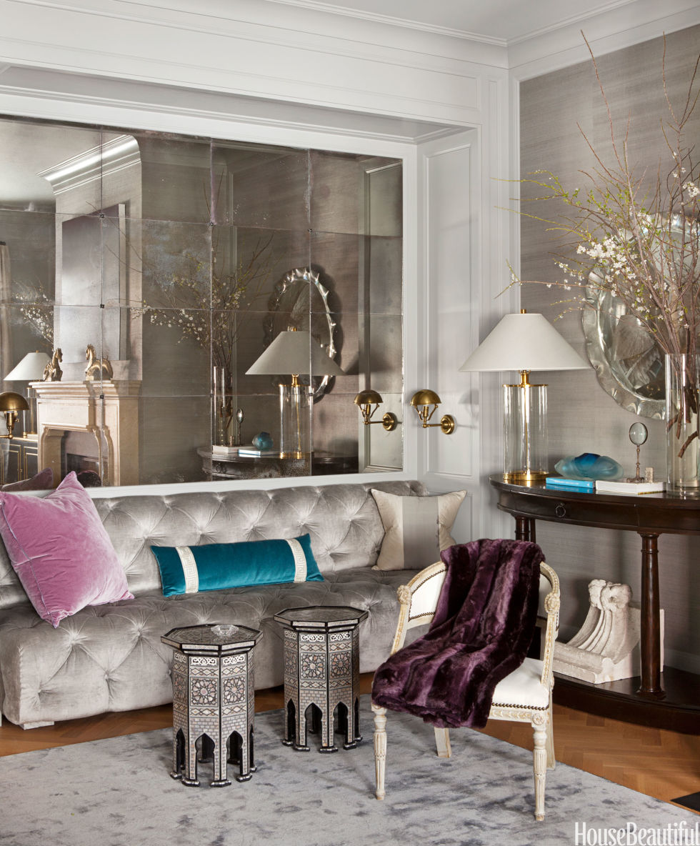 mirror decorating ideas - how to decorate with mirrors