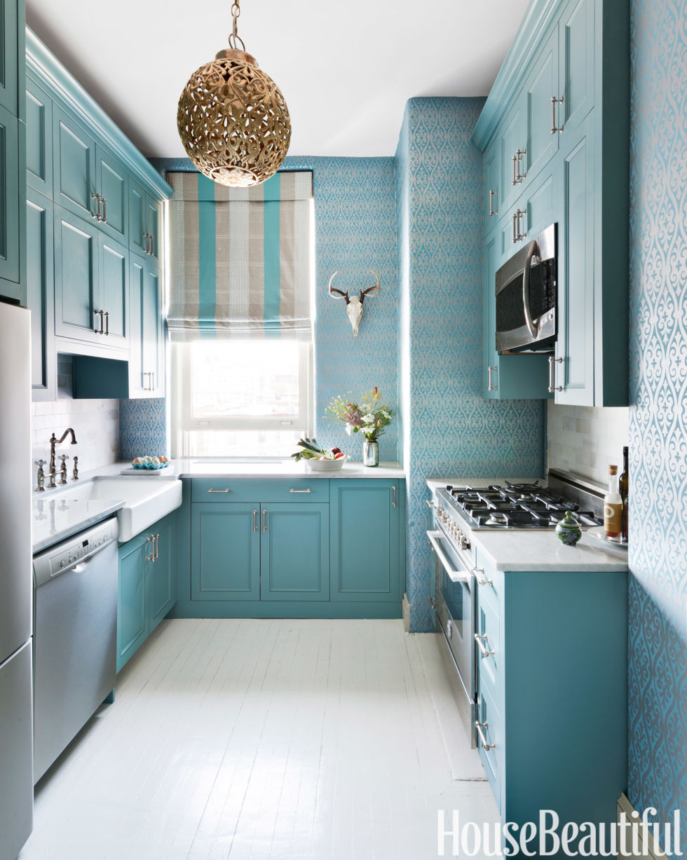 Interior design kitchen  20+ Best Kitchen Paint Colors - Ideas for Popular Kitchen Colors