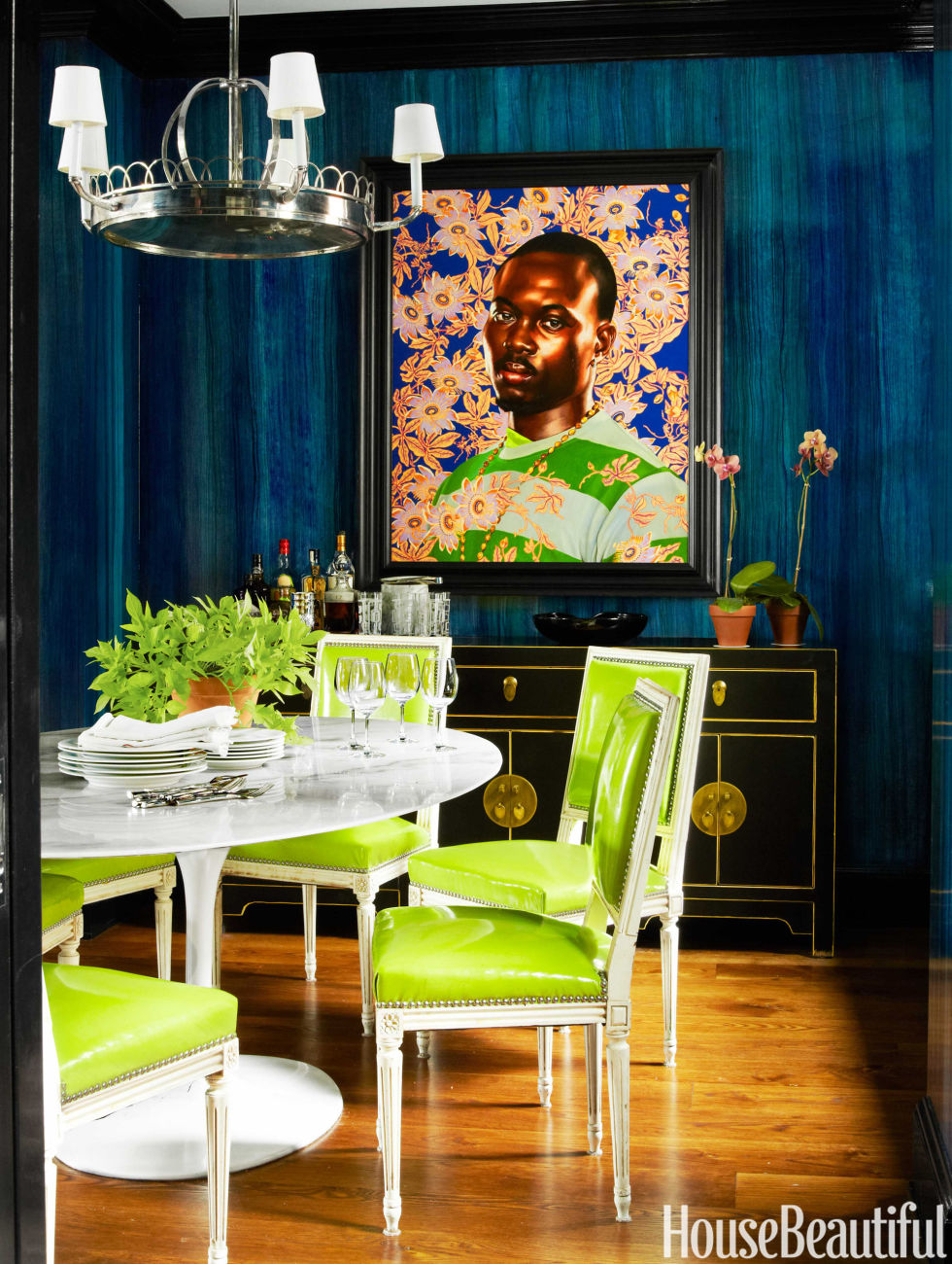 House Beautiful Dining Rooms how to mix metals at home - mixing metals in your home decor