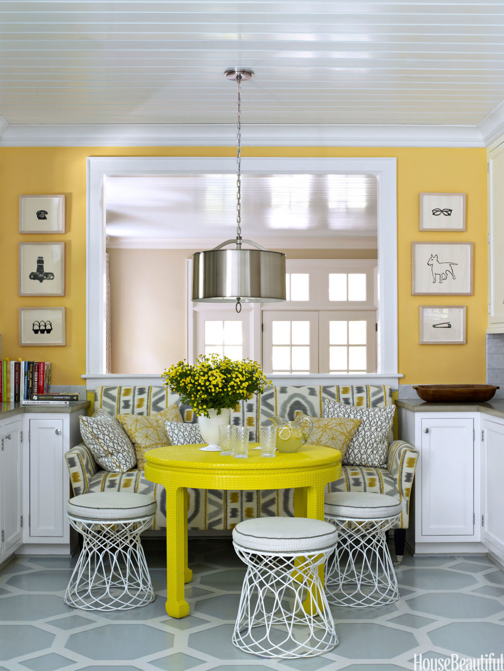 Bright Kitchen Color Happy Kitchen Ideas Bright Kitchens
