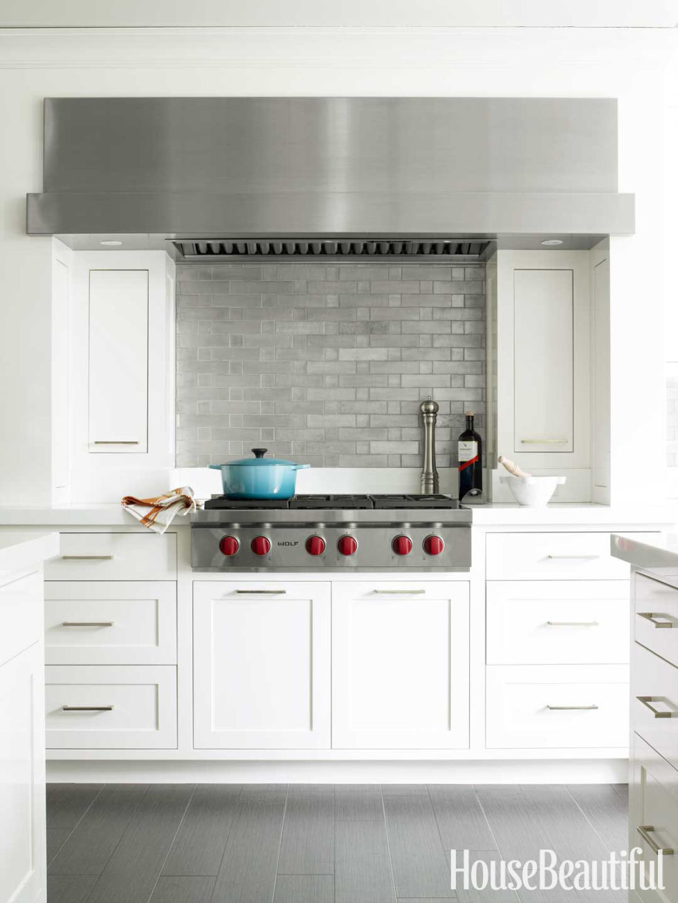 White Kitchen Backsplash 50 best kitchen backsplash ideas - tile designs for kitchen