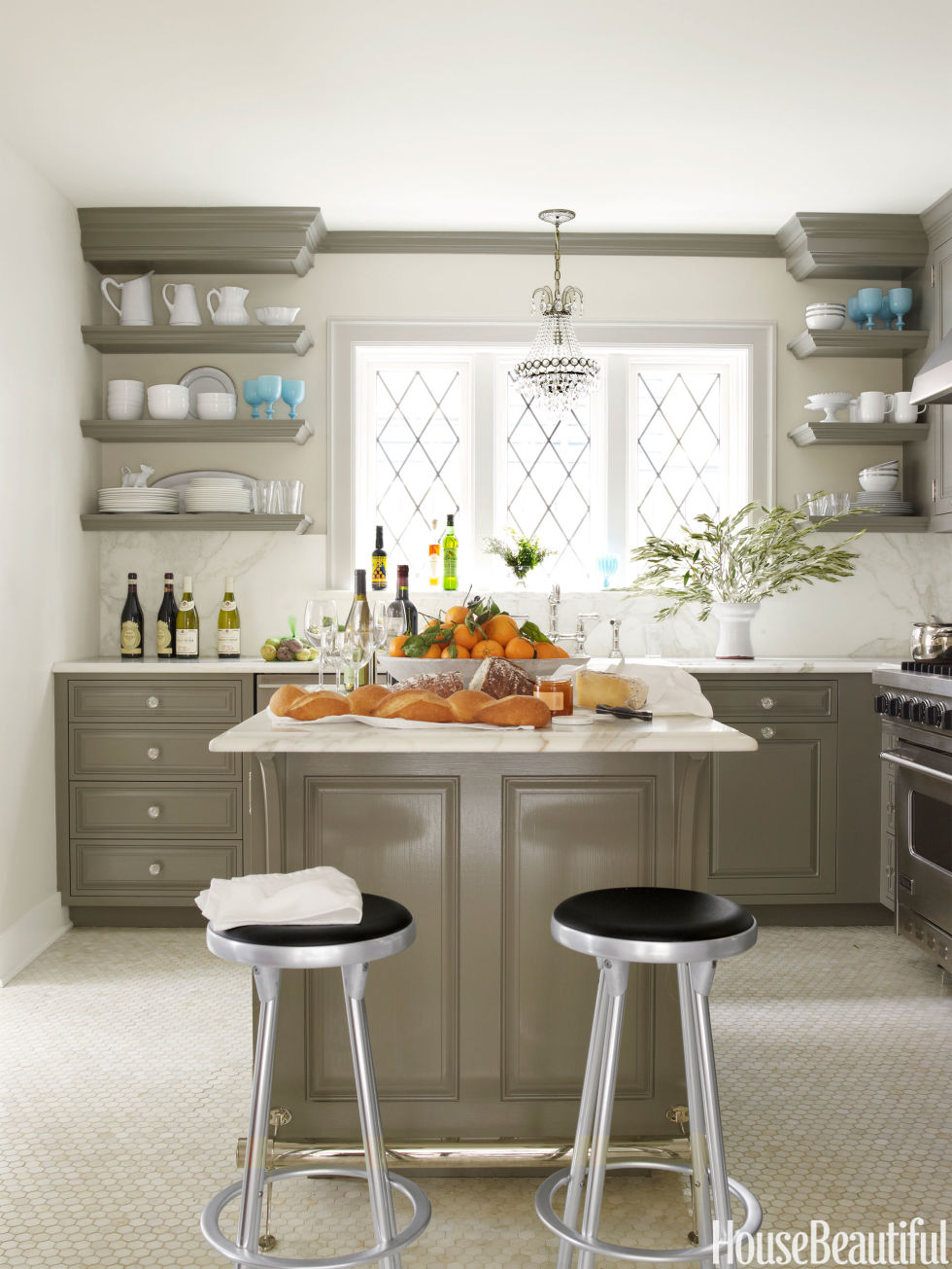 Gray Kitchen 20 Best Kitchen Paint Colors Ideas For Popular Kitchen Colors