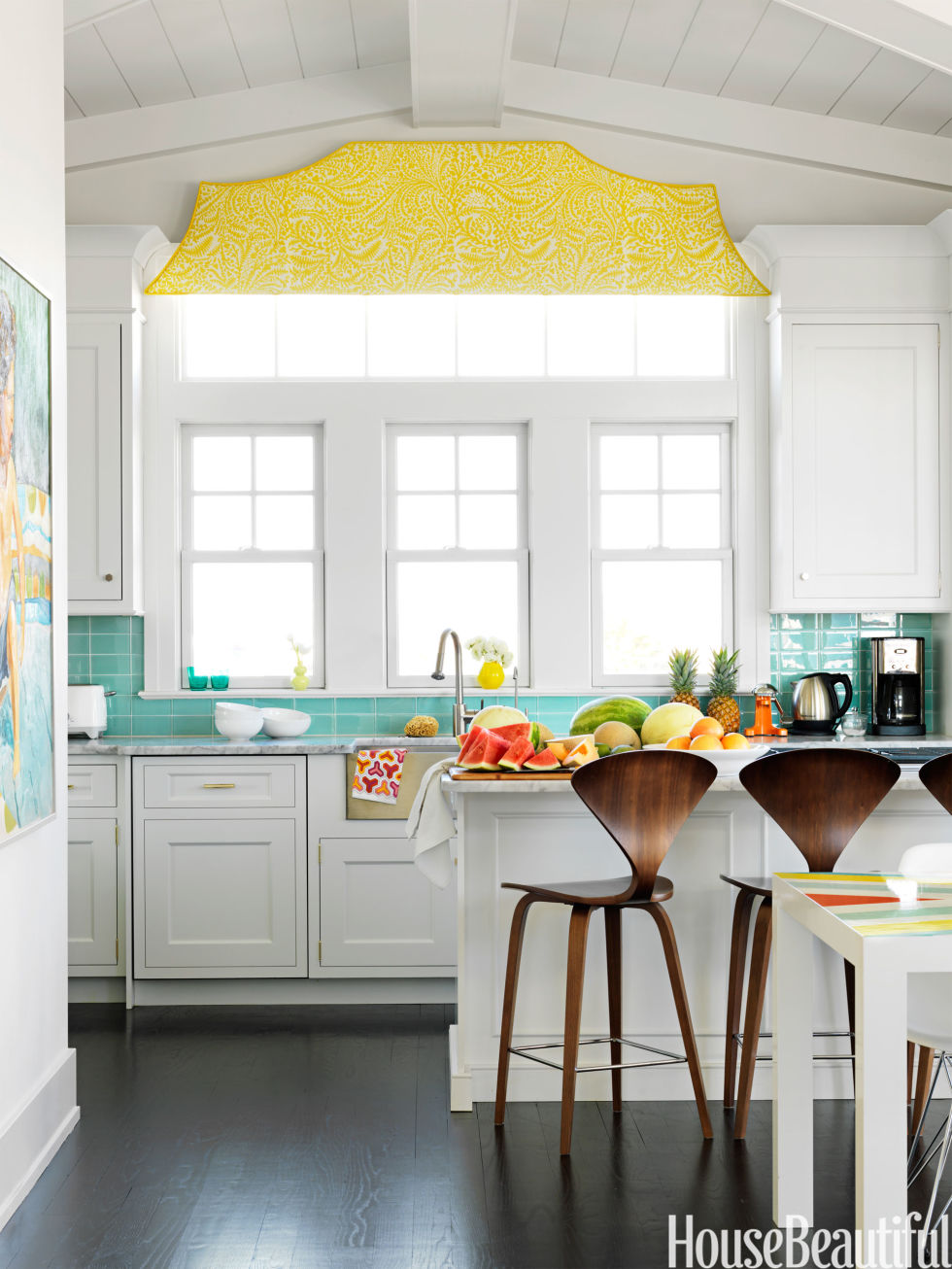 retro beach house decorating ideas colorful summer design