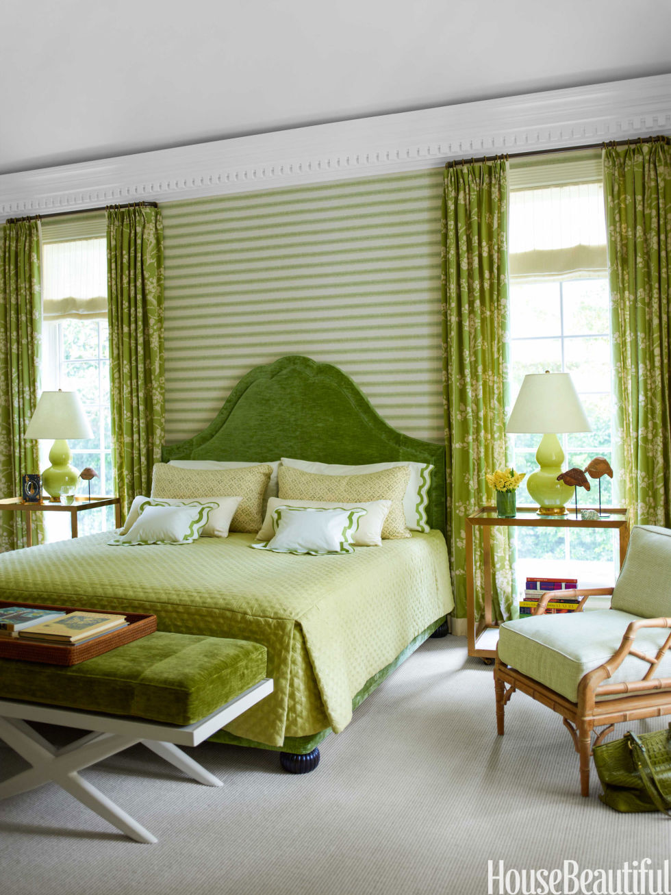 Modern Bedroom Green 60 best bedroom colors - modern paint color ideas for bedrooms