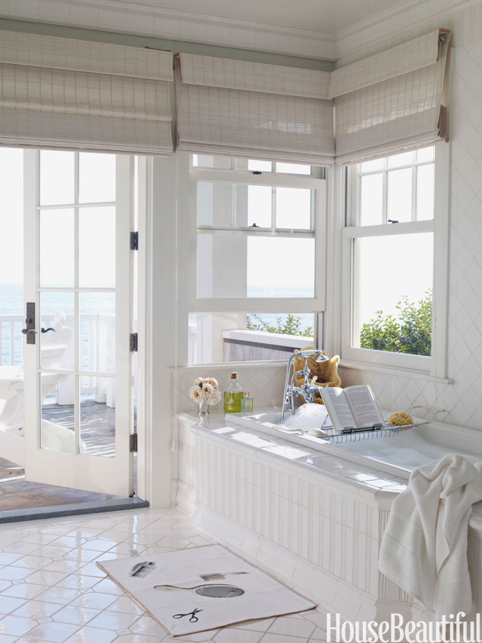 Small Bathrooms House Beautiful summer rooms - summer decorating ideas