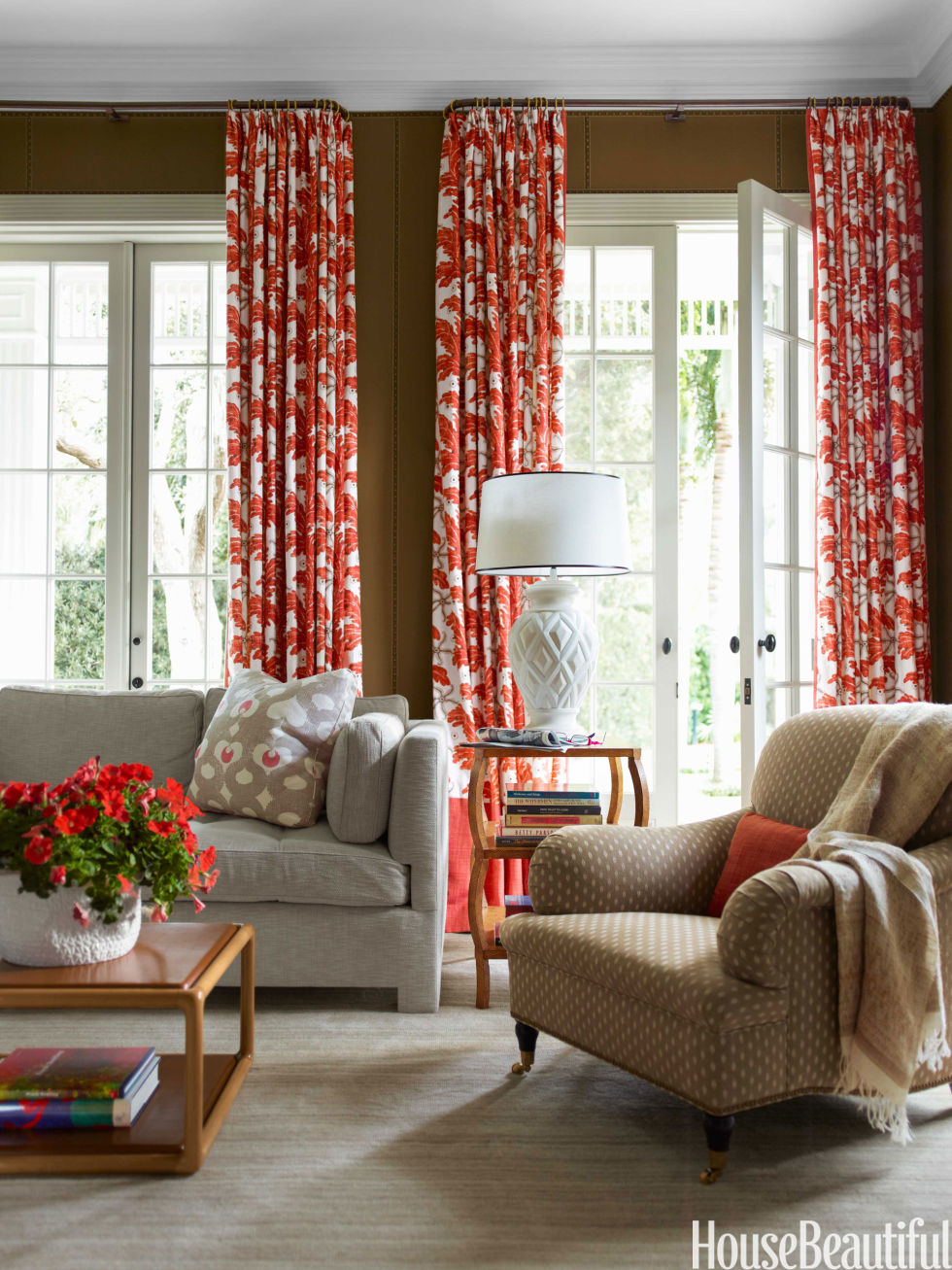 50 Window Treatment Ideas   Best Curtains and Window Coverings. Modern Living Room Drapery Ideas. Home Design Ideas