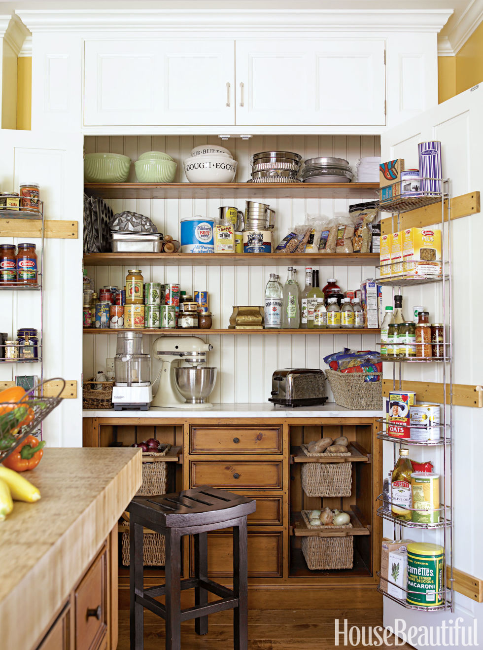 20 unique kitchen storage ideas easy storage solutions for kitchens - Kitchen Countertop Storage Ideas