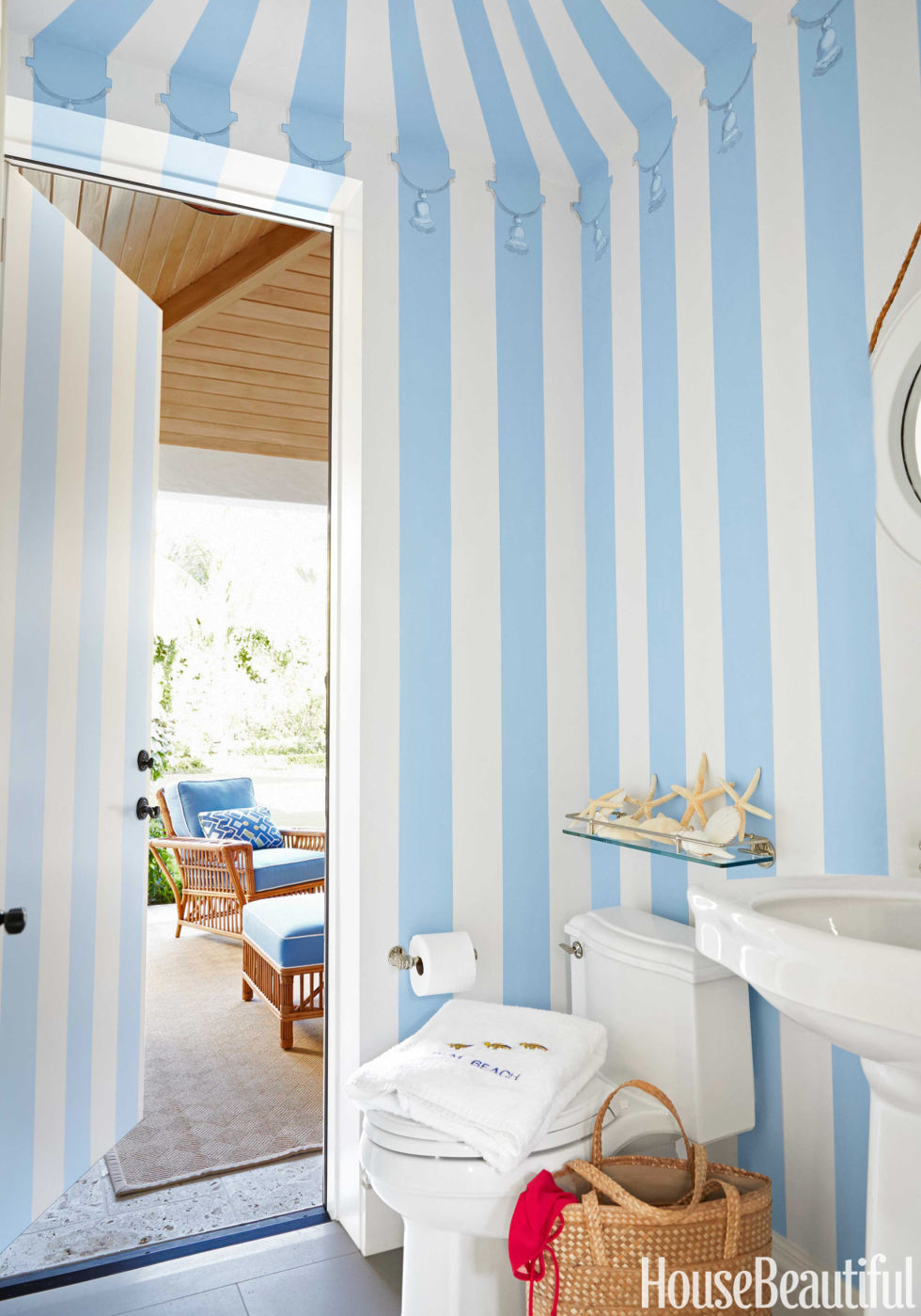 colorful palm beach house - mimi mcmakin ashley sharpe palm beach