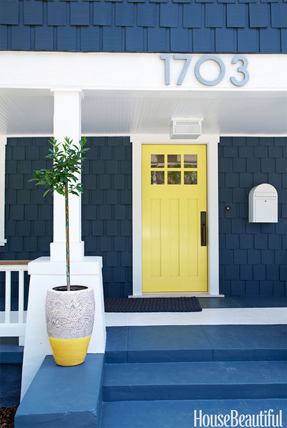 Painted Front Door Ideas 14 best front door paint colors - paint ideas for front doors
