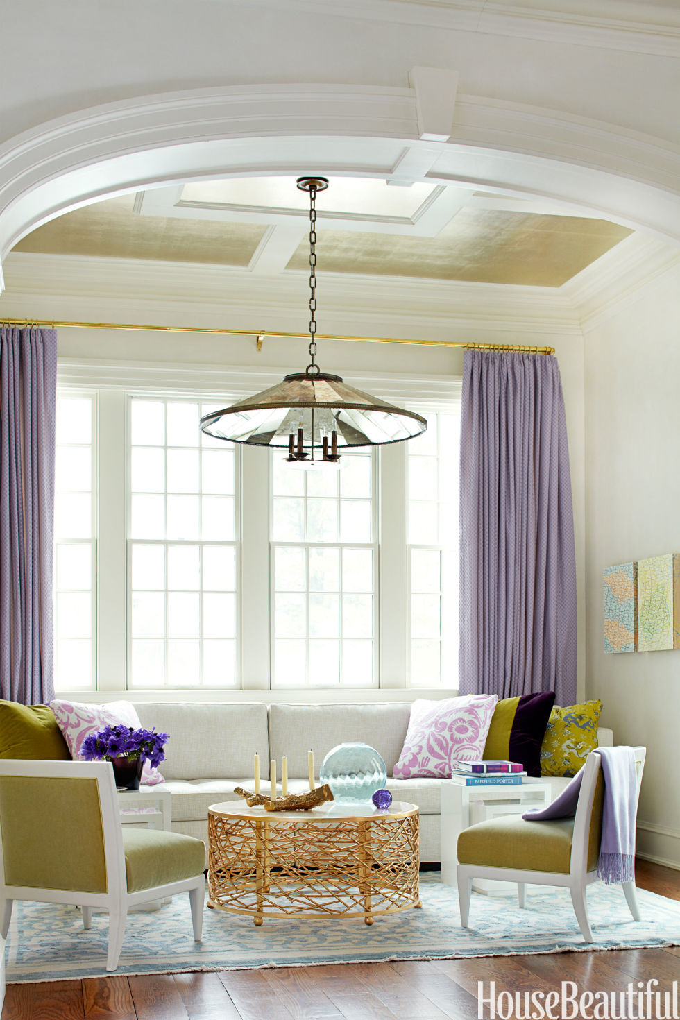 happy rooms cheery homes - House Beautiful Living Room Colors