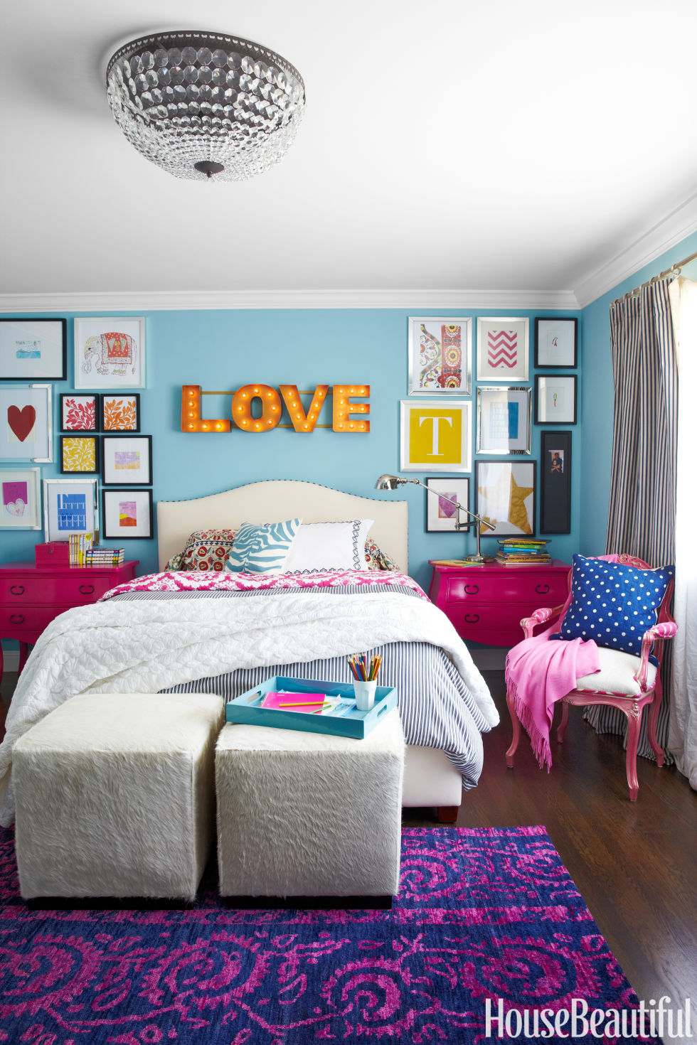 12 Best Kids Room Paint Colors - Children\'s Bedroom Paint Shade Ideas
