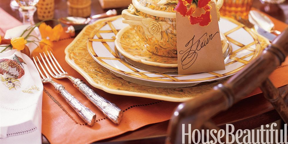 Are you stuck for table setting ideas for thanksgiving for How to set a round table for thanksgiving