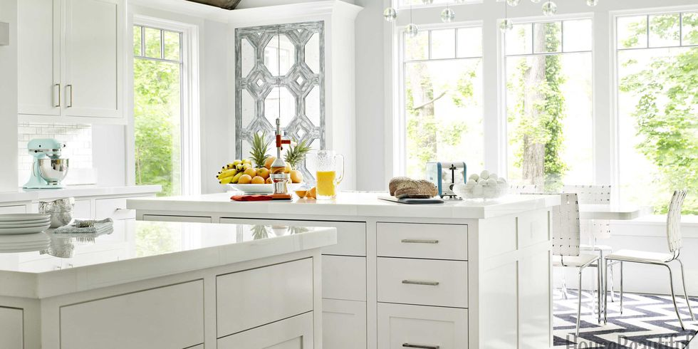 White Kitchen Decorating Ideas glossy white kitchen - white kitchen decorating ideas
