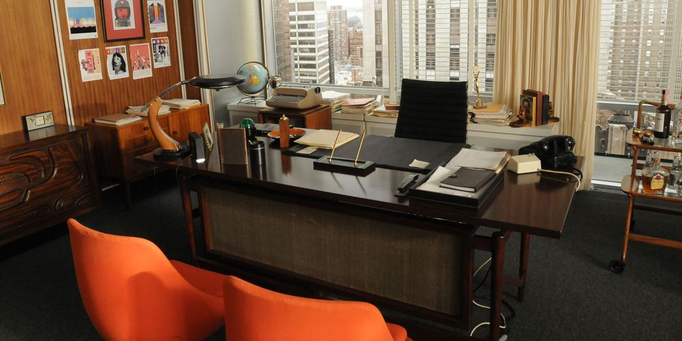 Mad Men Decor mad men office decor - mad men set design