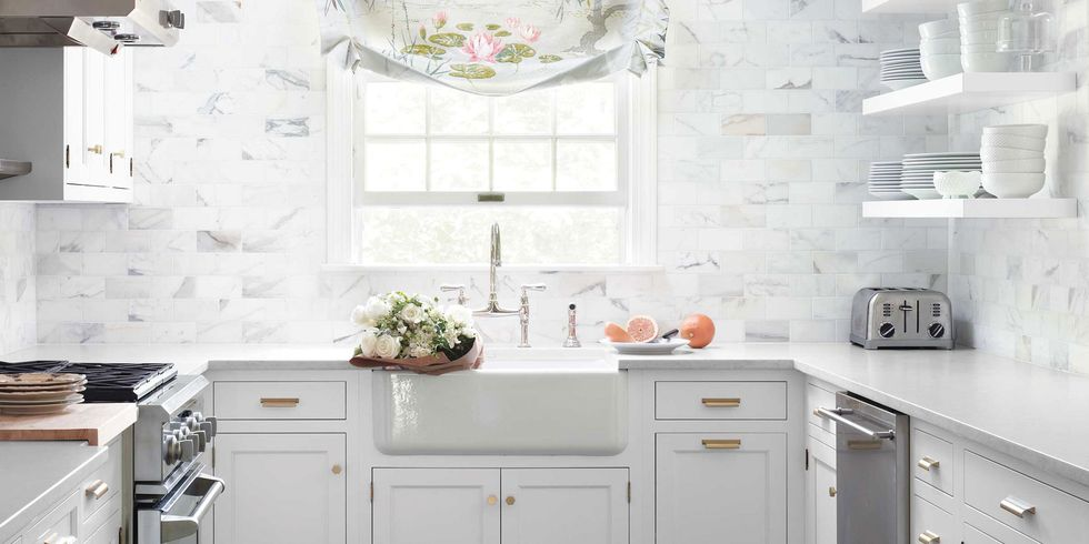 Classic White Kitchen classic white kitchen - white kitchen decorating ideas