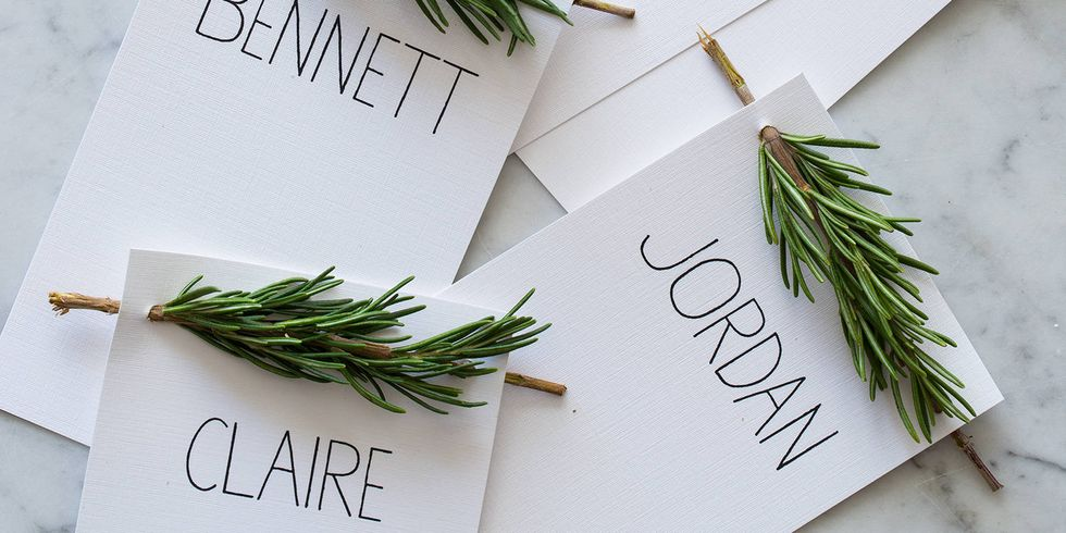 20 DIY Thanksgiving Place Cards - Ideas for Holiday Place Card Holders
