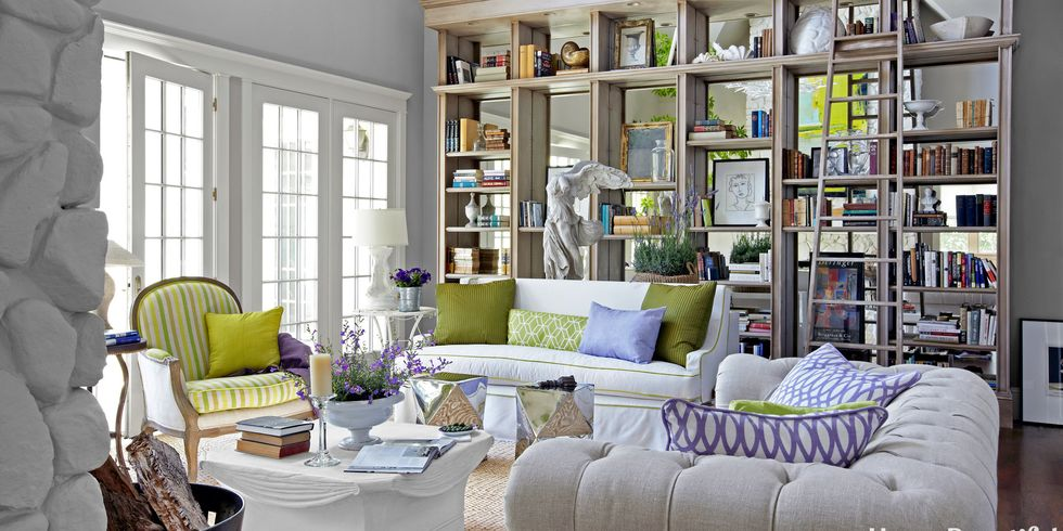 mirror bookshelf - Bookcase Design Ideas