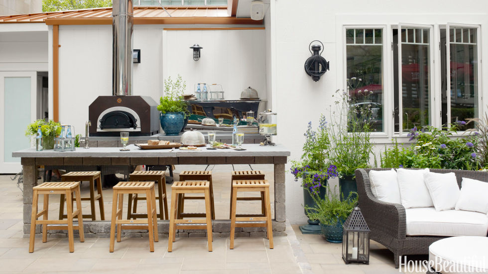 Outside Rooms Ideas 20 outdoor kitchen design ideas and pictures
